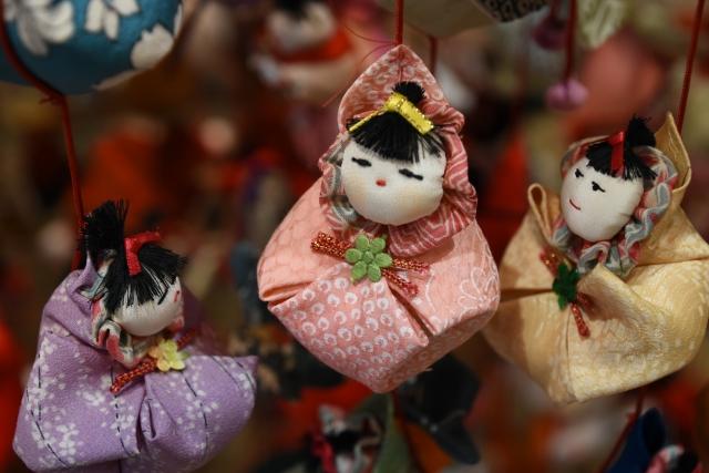 ひな祭り 吊るし人形