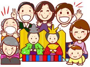 雛祭り 家族で楽しむ